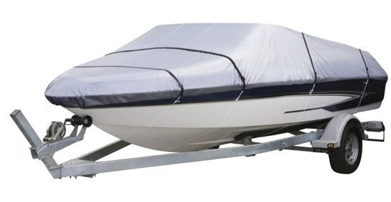 Armor Shield Boat Cover 14'-16'L Beam Width to 90'' Aluminum Bass Boats, V-Hull & Tri-Hull Runabouts Outboard & I/O Fishing Boats