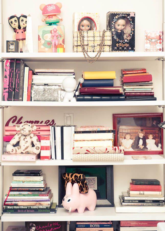 Charlotte Ronson bookcase
