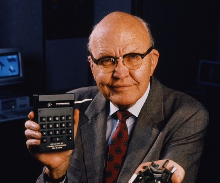In 1958 Jack Kilby and Robert Noyce unveil the integrated circuit, known as the computer chip. Kilby was awarded the Nobel Prize in Physics in 2000 for his work.