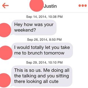 23 Excruciating Tinder Exchanges That Will Destroy Your Faith In Romance -- haha this guy is actually pretty funny