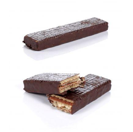 GAUFRETTE CHOCOLAT LINÉADIET X 5 Gaufrette riche en protéines saveur chocolat prête à l'emploi.  La gaufrette saveur chocolat constitue une solution diététique pratique : vous pouvez l'emporter partout ! Faible en calories et riche en protéines, elle est votre gourmandise autorisée. Vous pouvez consommer les gaufrettes au chocolat en en-cas pour votre goûter mais aussi au petit-déjeuner, ou encore en dessert durant votre déjeuner ou dîner.