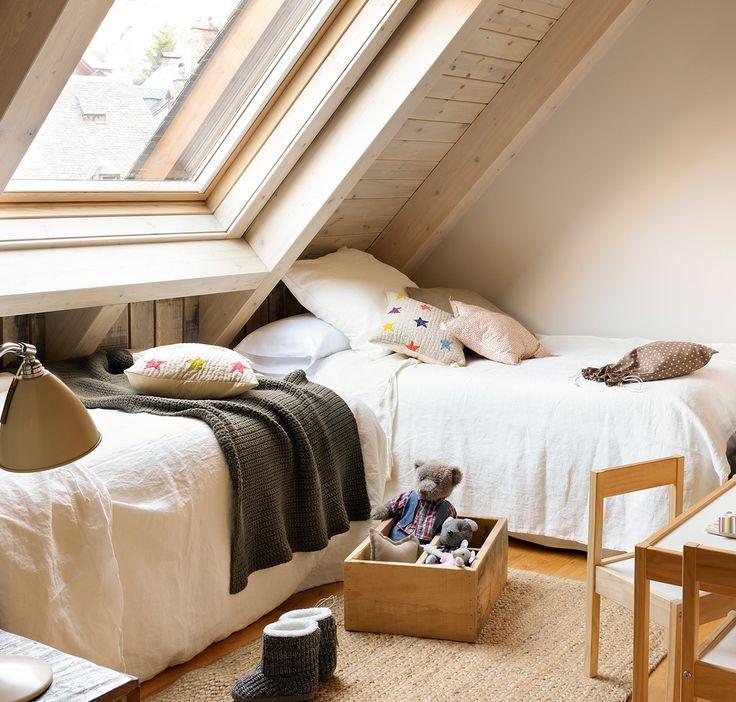 Una cálida cabaña en la nieve · ElMueble.com · Casas