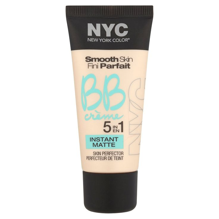 N.Y.C. New York Color BB Creme Foundation Matte, Light, 1 Fluid Ounce >>> You can get additional details at the image link.
