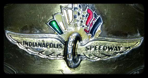 VTG Indianapolis Motor Speedway Belt Buckle.