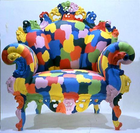 Alessandro Mendini, The Proust Chair, a design dating from 1978