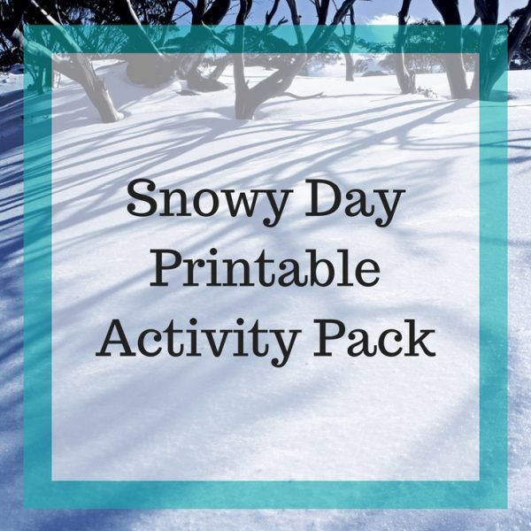 This printable pack includes SnowBooks for Kids Library Checklist, Hands-on Snow Book Activities, Copywork, Writing Prompts, and Snow Themed Notebook Pages. (Elementary, Middle School)