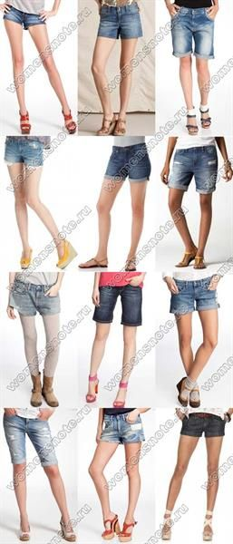 Как с джинсов сделать шорты