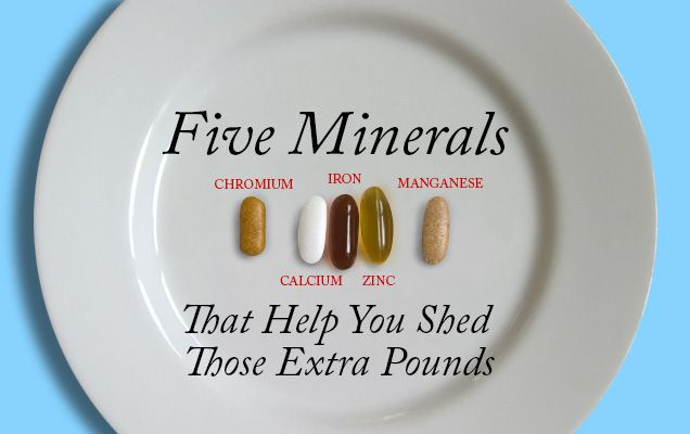 Be healthy and happy by using minerals in your favor to drop those stubborn pounds.