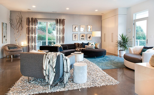 Vidabelo Interior Designs Shannon Ponciano Urban ID Studios Portland Oregon Family Room