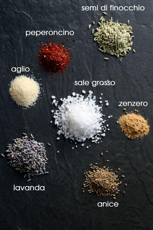 Sale e spezie italiano