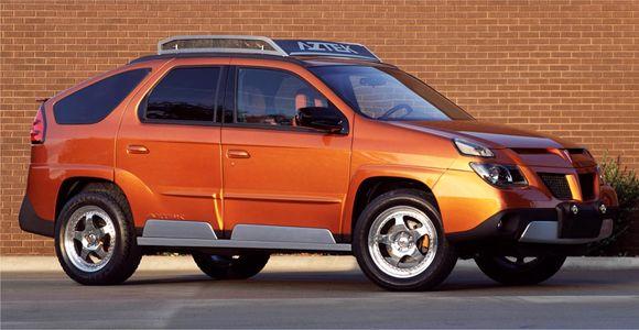 Pontiac Aztek - 2001 A világ legrosszabb autói