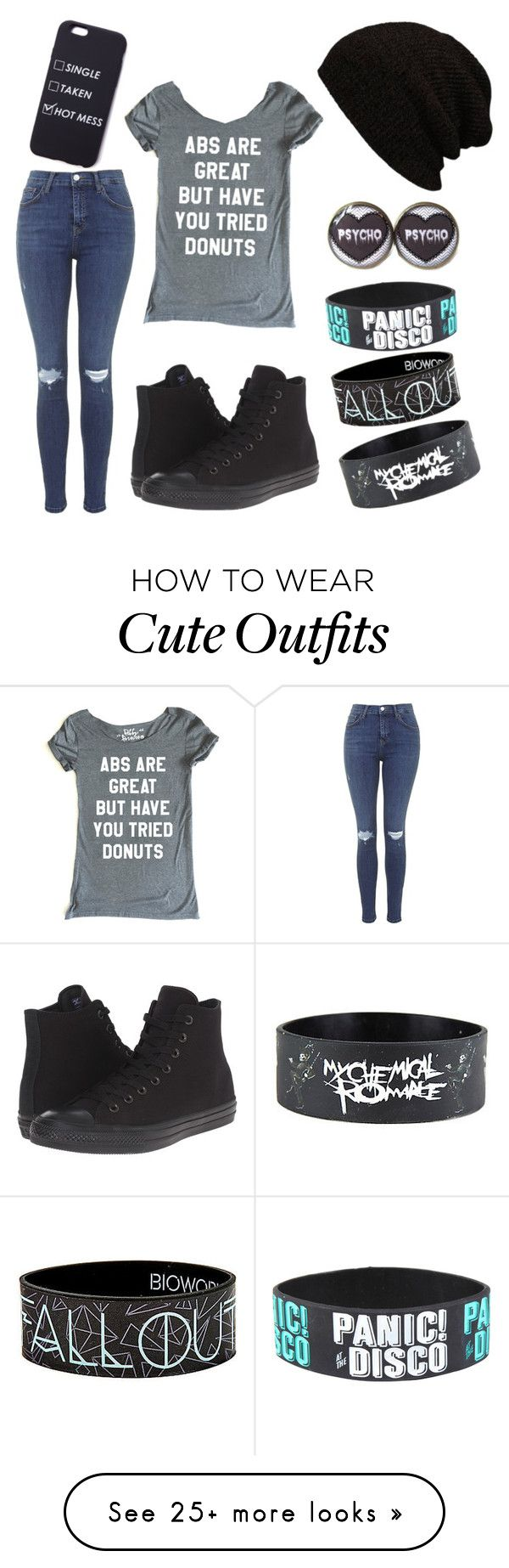 """Everyday Outfit"" by jezebellaredfern on Polyvore featuring Topshop and Converse"