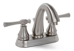 Premier 120070LF Torino Lead-Free Centerset Two-Handle Lavatory Faucet Brushed Nickel