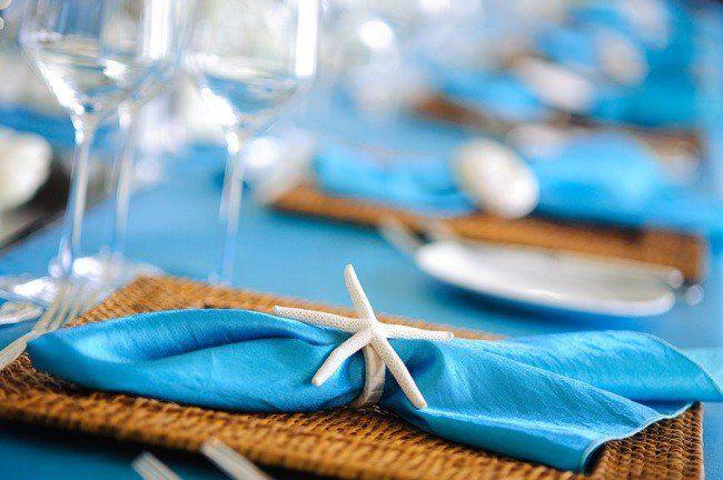 Starfish Napkin Ring from our rental collection l Scene Events l Honolulu l Oahu l Hawaii ヒトデのナプキンリング|ハワイウェディング装飾レンタル|シーンイベンツ|ホノルル|ハワイ
