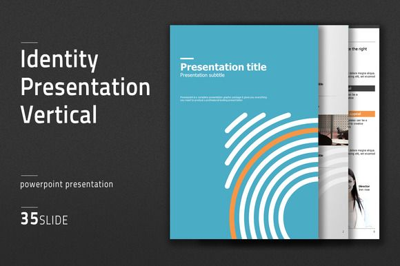 Identity Presentation Vertical by Good Pello on Creative Market