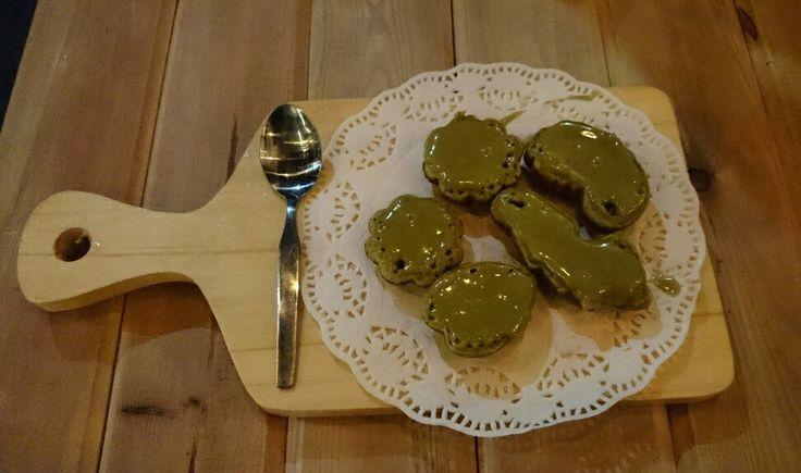 Kue cubit green tea | Food and drink | Pinterest | D, Green and Teas