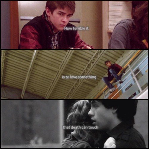 Degrassi - I cried when cam died... ;$