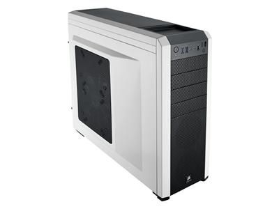 Corsair Carbide Series 500R Mid-Tower Gaming Chassis, White (CC-9011013-WW) - dabs.com