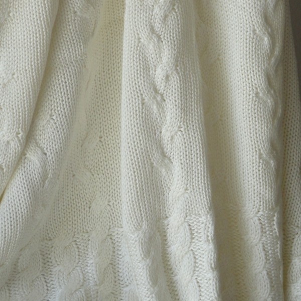 Baby Bamboo Blanket Pattern: Bamboo Baby Knitted Blanket $44.95