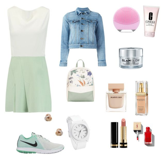 """""""Untitled #57"""" by portuguesegreeneyes on Polyvore featuring Roland Mouret, NIKE, Fiorelli, Yves Saint Laurent, Nephora, Clinique, GlamGlow, Narciso Rodriguez, Elizabeth Arden and Gucci"""