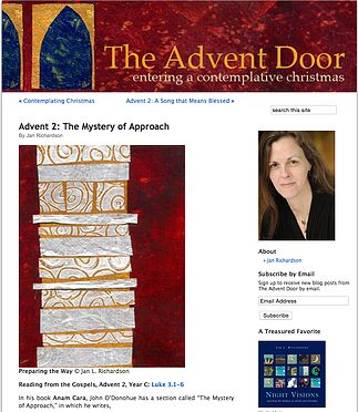 Karly Michelle | Advent Reflections 1 - The Advent Door by Jan Richardson
