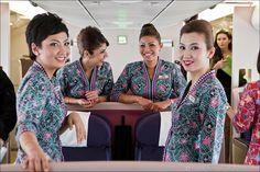 Malaysia Airways cabin crew