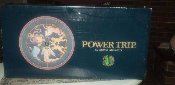 Vintage c.1984 Power Trip The Game for Kinetic