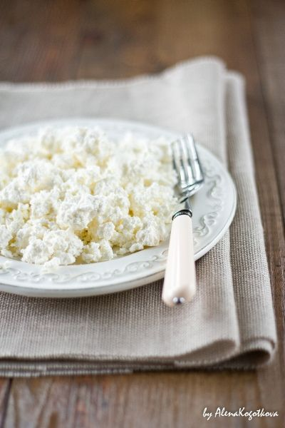 Homemade Cottage Cheese   Recipe In English At Bottom