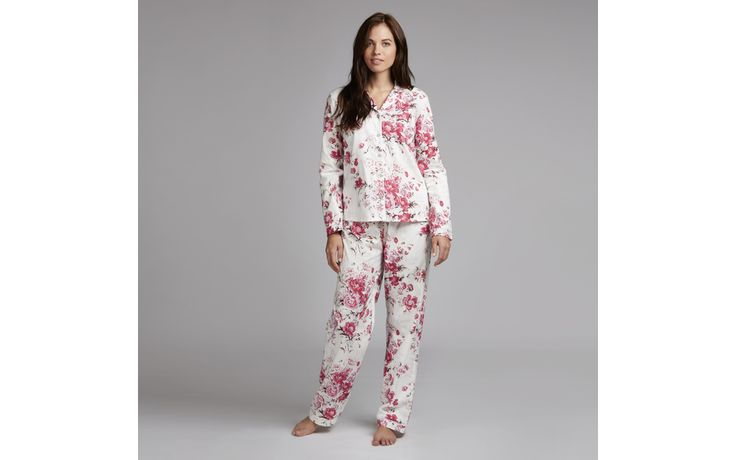 Arundel Floral Woven Pyjama Shirt