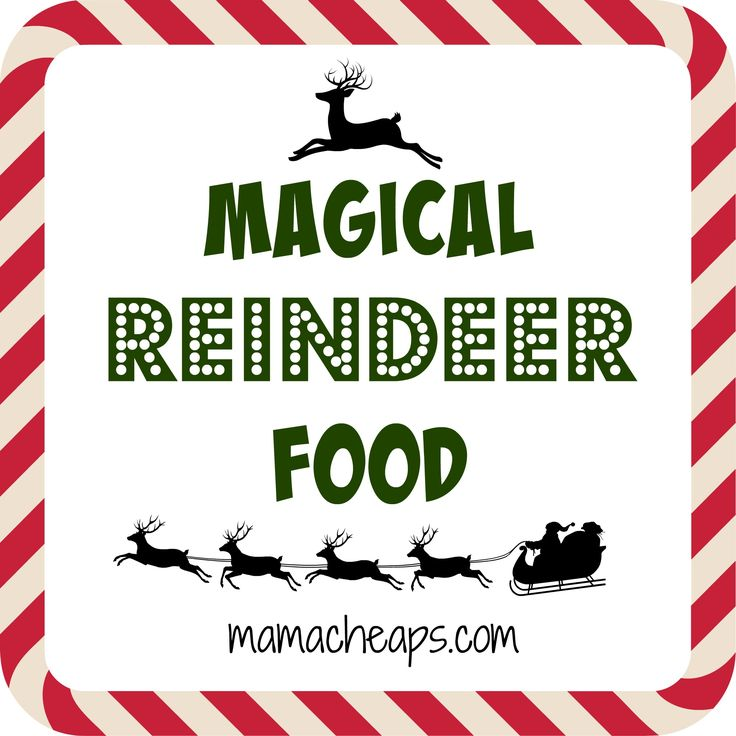 84 best reindeer food recipes images on pinterest xmas la la la magical reindeer food recipe printable tag forumfinder Gallery