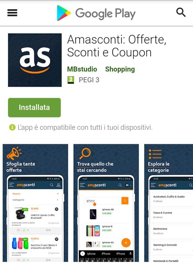 Amasconti è disponibile sul PlayStore 🔥 nel 2020 App