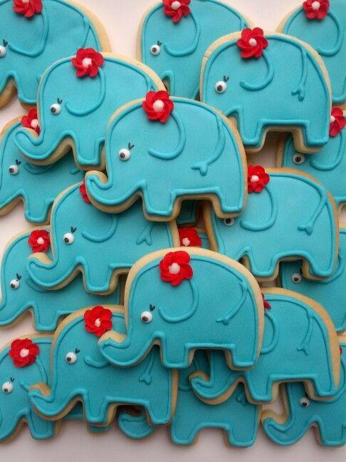 Olifant koekjes