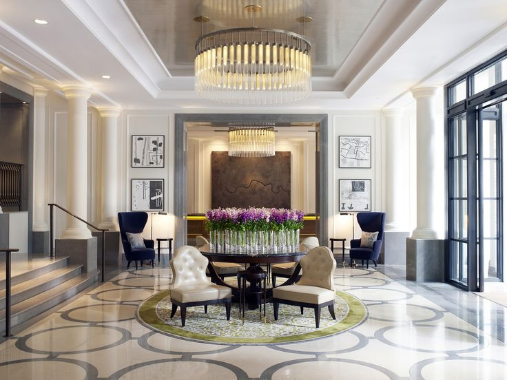 Best New Hotel, London, UK, Corinthia Hotel, Entrance lobby - hotelzimmer design mit indirekter beleuchtung bilder