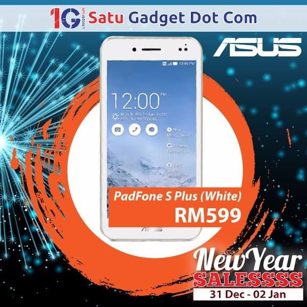 "Asus Padfone S Plus SALESSSS starts now! RM599 - Original Malaysia Set (Without Station) - 5""inches FHD Display  - 64GB Internal Storage with 3GB RAM  - Quad Core 2.3GHz  - 13MP Rear Camera + 2MP Front Camera - 1 Year Asus Malaysia Warranty   p/s: More great deals to be announced soon!  Retail Daily Operation Hours: 11:00AM-10:30PM (Sales) / 11:00AM-9:00PM (Service)  For more information, please contact our careline at 03-92823811 / 017-3888388 / 013-3888432 / 013-3888698 / 013-3888246…"