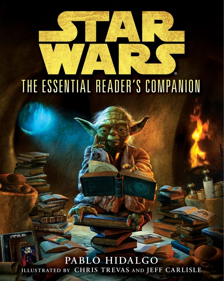 143 best book covers images on pinterest book covers cover the nook book ebook of the the essential readers companion star wars by pablo hidalgo chris trevas jeff carlisle brian rood fandeluxe Gallery