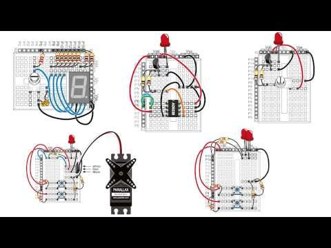1000 images about electronics fun radios arduino this tutorial will take you through the basics of wiring circuits on a breadboard from a schematic for more examples fun the stamps in class mini