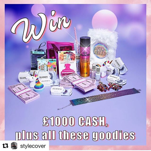 #Repost @stylecover with @get_repost  #Repost @misspap with @get_repost  wanna #win the ultimate @misspap  @glamifybeauty combo?  we are givin' you the chance to win 1000 cash the entire glamify lash collection  a @misspap unicorn bundle of dreams?  to enter simply:  1. follow @glamifybeauty 2. tag two bffs  3. repost for an extra entry  winner announced on monday 12th march - good luck #misspapped #misspap #style #ootd #fashion #instagood #fwis #lotd #instadaily #comp #win