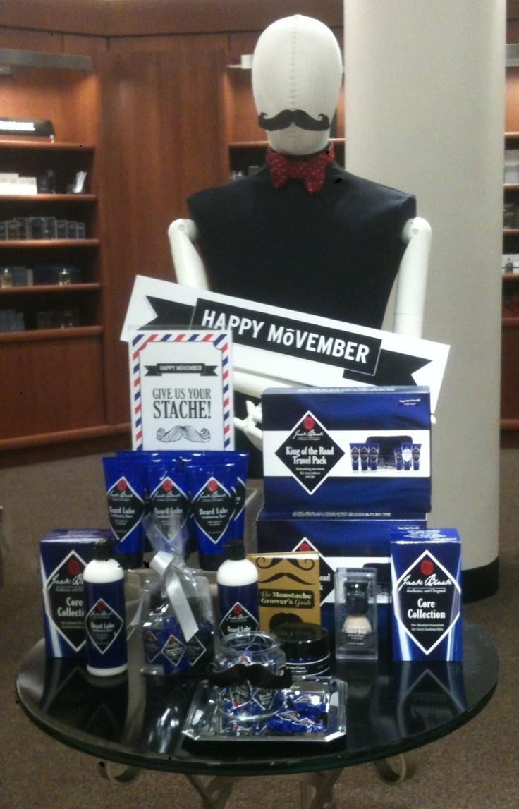 """Men's Fragrances November 2012 - """"No Shave Movember"""""""