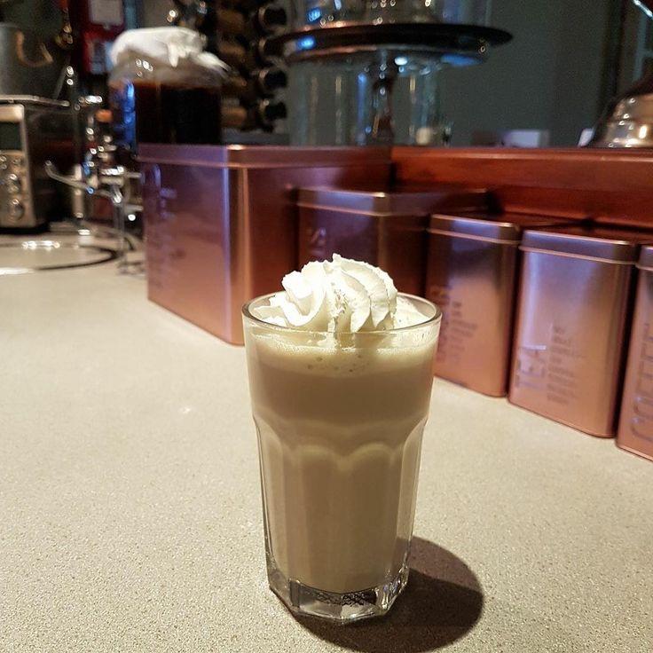 Kefir Iced Latte  #nourishmeorganics #guthealth