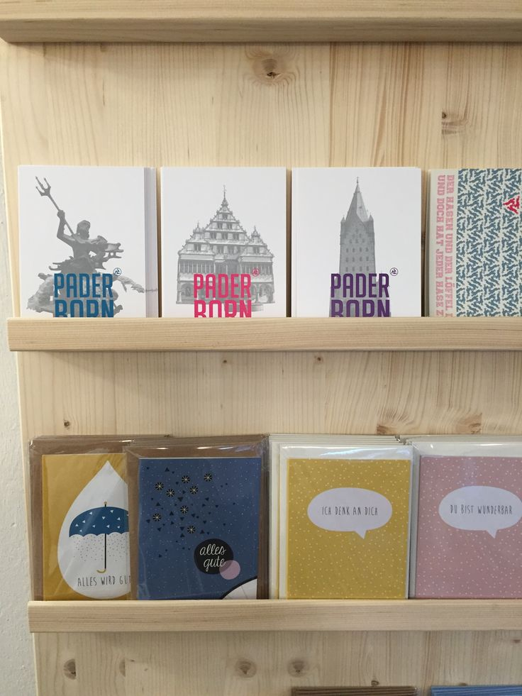 Kartenständer - gesehen in der März - Manufaktur