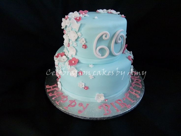 Ladies 60th Birthday Cake Birthday Cakes Birthday
