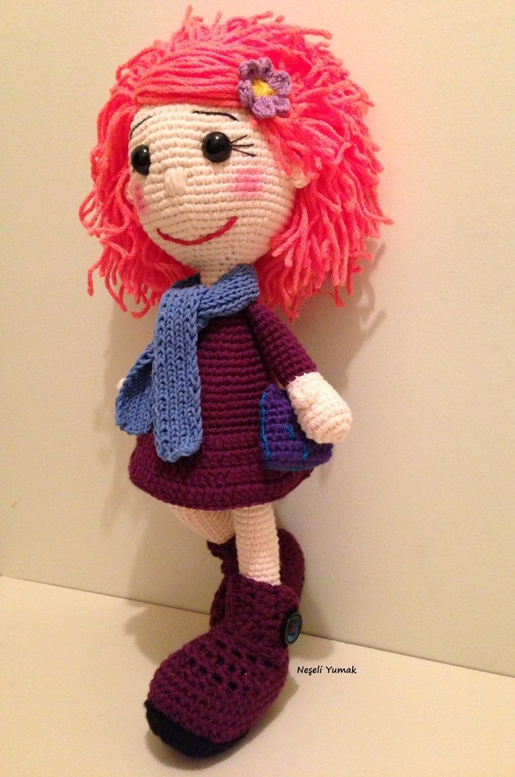 17 Best images about Crocheted Dolls on Pinterest ...