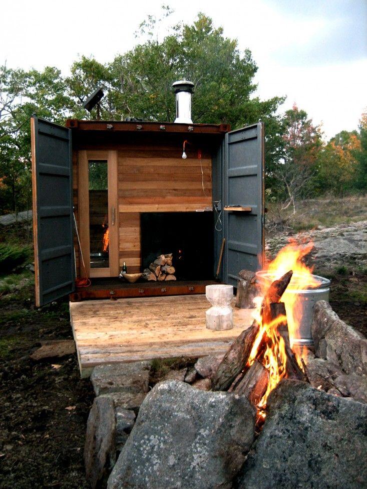 sauna box by castor design | gardenista