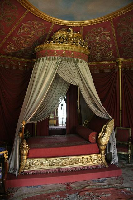 Chateau Malmaison / Empress Josephine's Bed