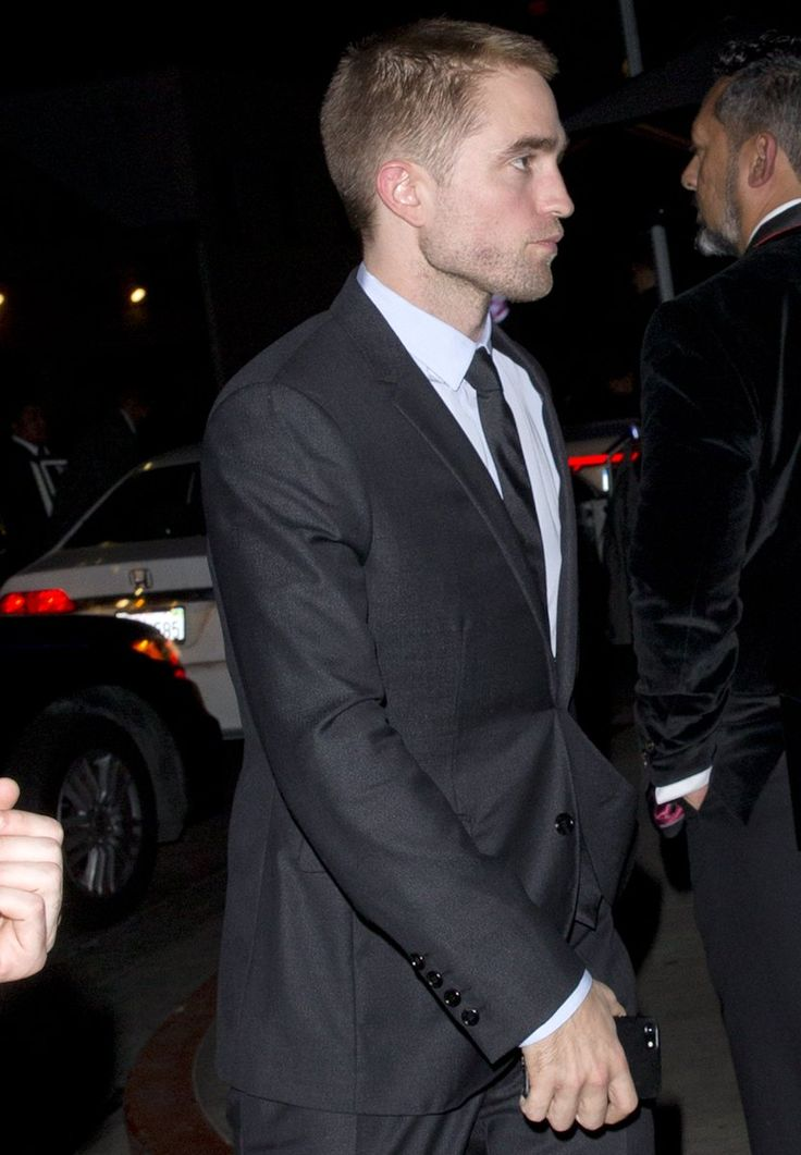 Rob arriving at the Dream Hotel where the Holland Gala was held, November 15, 2017