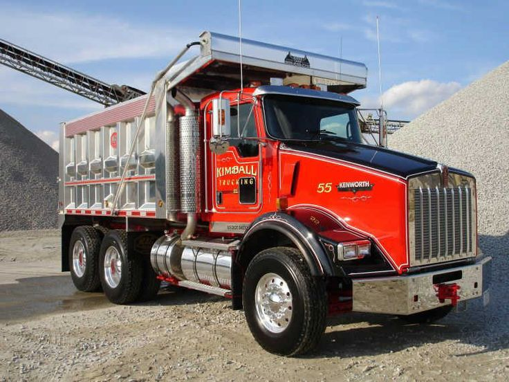 Custom Single Axle Trucks : Best images about tandems and end dumps on pinterest