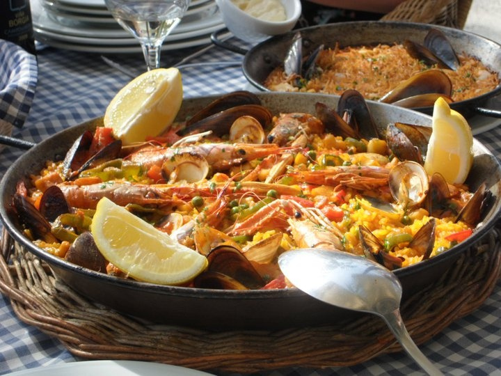 Paella at Vilanova i la Geltrú (BCN)