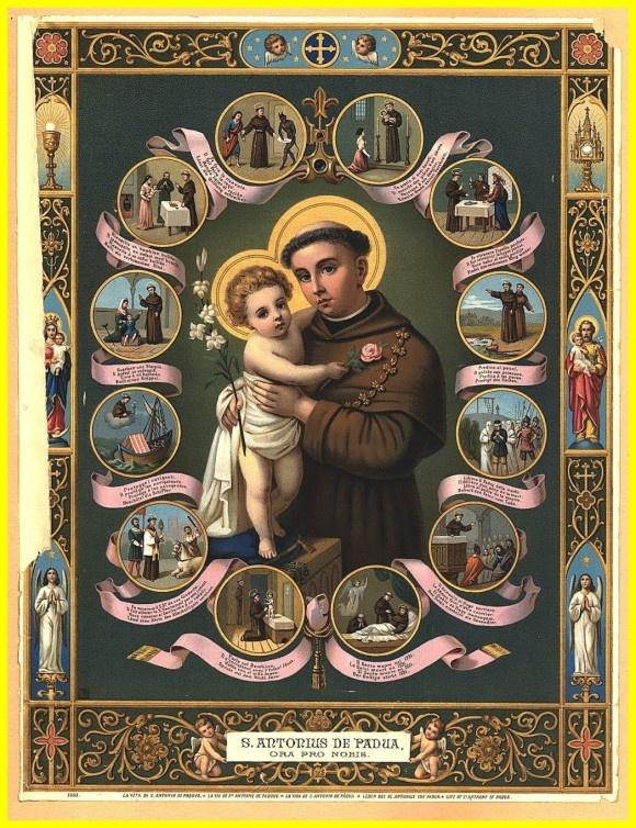 Hoje é dia do Santo Antônio , que nos abençoe.