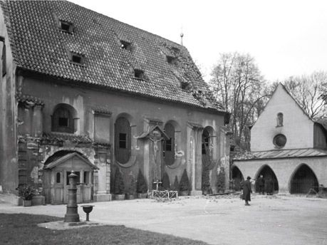 Haidhausen, Loretto Church at Gasteig, ca.1890