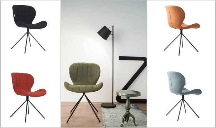 Hippe eetstoel met een optimaal zitgemak! Stoel OMG brengt kleur een sfeer aan de eethoek. Verkrijgbaar in 6 trendy kleuren: oranje, grijs, zwart, groen, rood en blauw! Stoel met een stoer, zwart metalen onderstel. Industriële en moderne look! Bekijk deze leuke stoel bij van de Pol Meubelen.